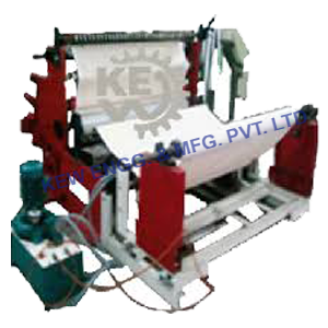 Textile Cloth and Fabric Slitter Rewinder